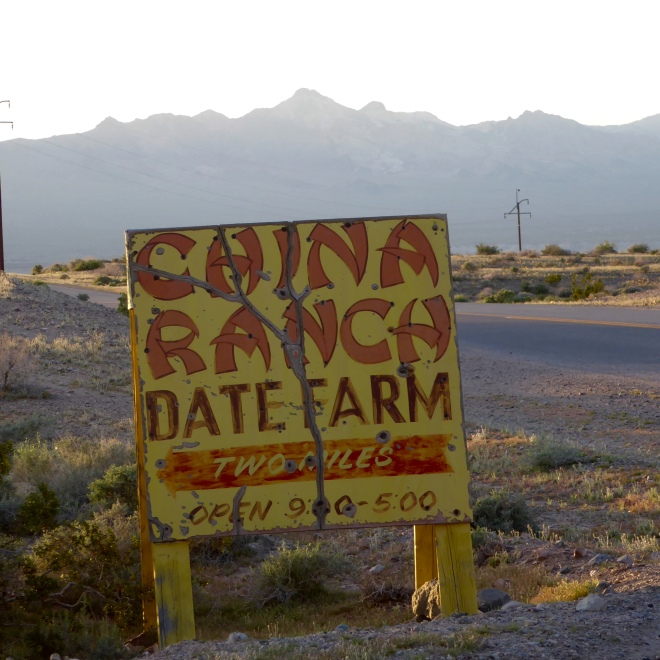 China Ranch is 2 miles from here.