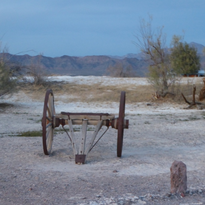 Wagon in Tecopa