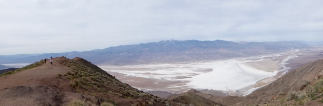 Floor of Death Valley from Dantes View