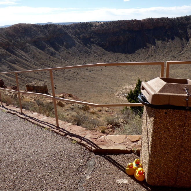 Meteor Crater with Zeb, Soapy Smith and JB Duck