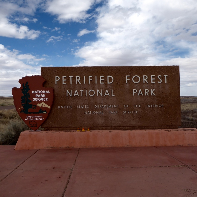 Petrified Forest National Park in Northern Arizona