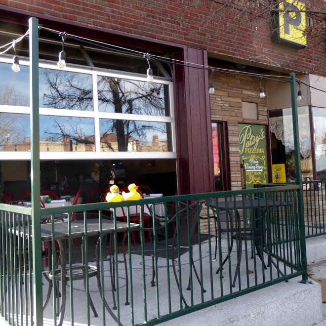 Patsy's Pizzeria. With new patio
