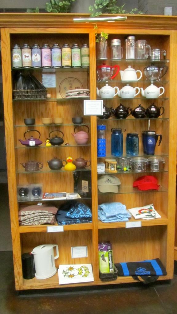Gorgeous teapots and tea supplies