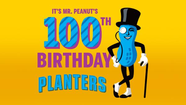 Happy 100th Birthday Mr. Peanut