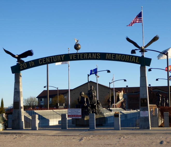 Veterans Memorial in North Platte, Nebraska