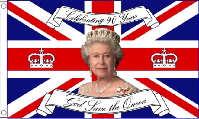 Happy 90th Birthday Queen Elizabeth