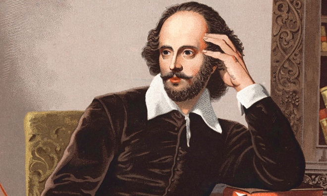 Happy Birthday William Shakespeare. You look great for 452 years old