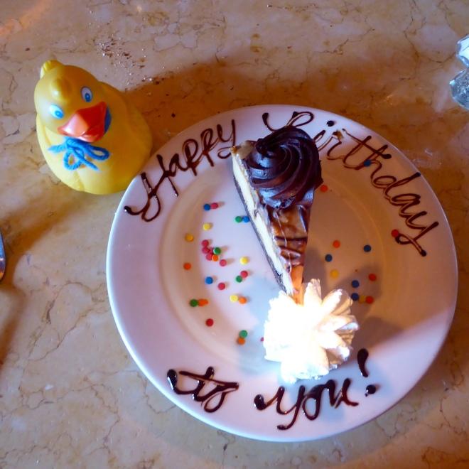 Great birthday dessert