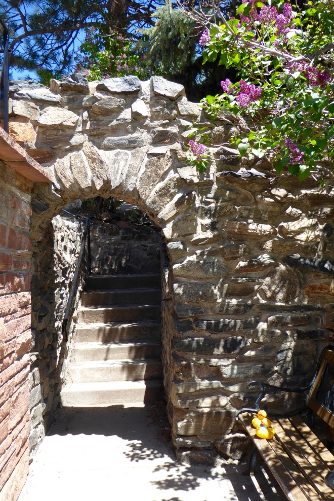 Beautiful stone archway