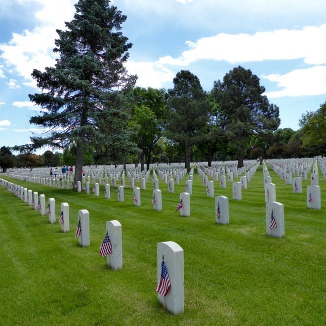 Fort Logan National Cemetery, Denver, Colorado
