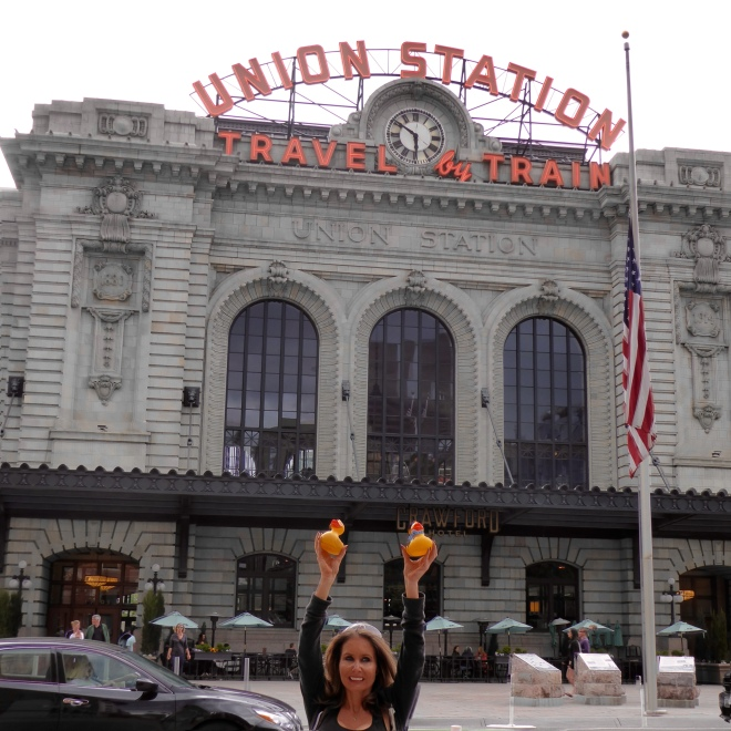 Union Station Train Station in Denver
