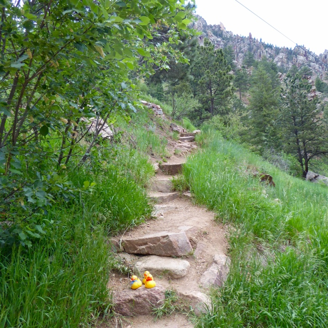 Eldorado Canyon Trailhead. Ready?