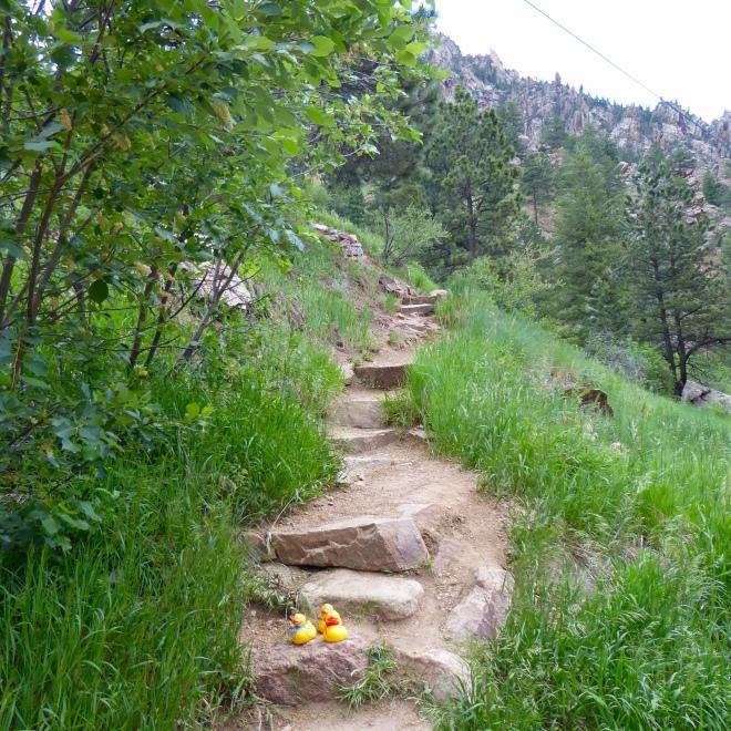 Eldorado Canyon Trailhead. Ready?