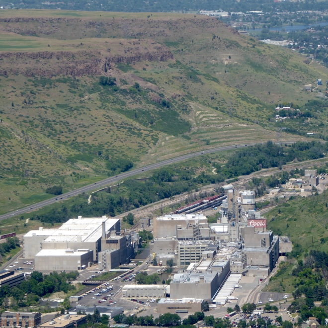 Coors Brewery of Golden, Colorado