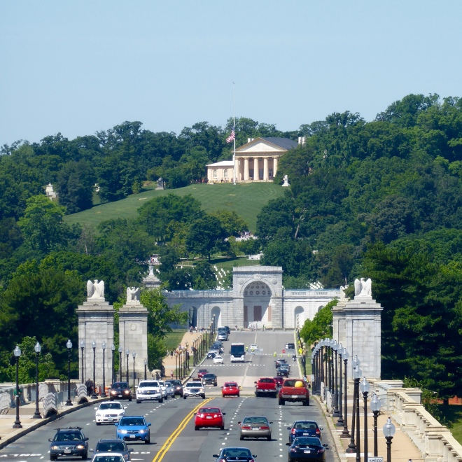From Lincoln Memorial to Arlington National Cemetery