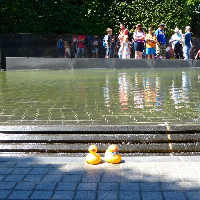 Pool at Korean War Memorial