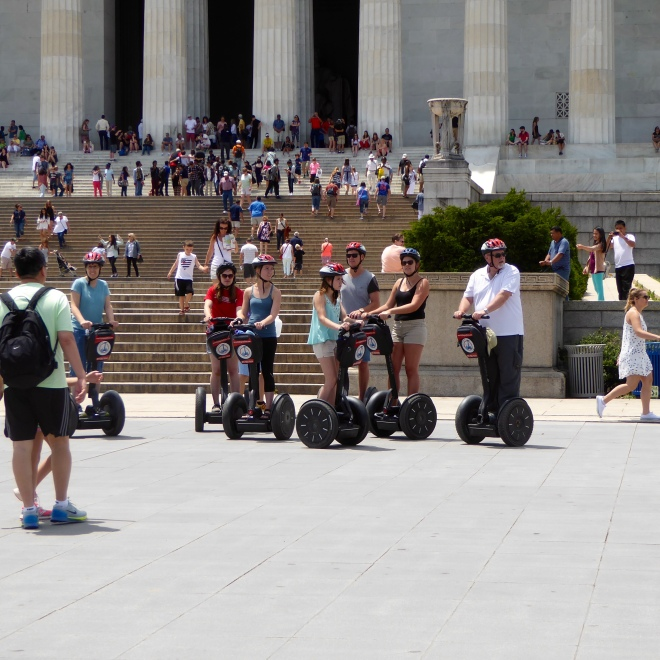 Take a Segway tour of Washington D.C.