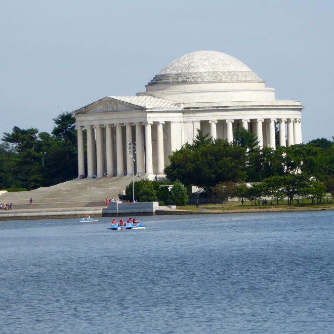 Jefferson Monument from Dr. Martin Luther King, Jr monument