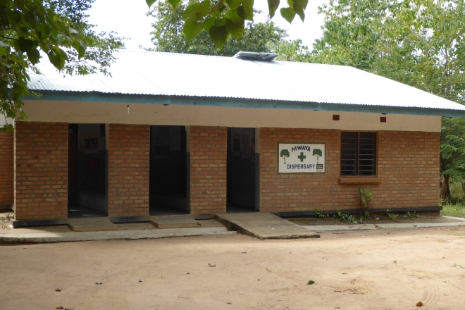 The clinic or dispensary