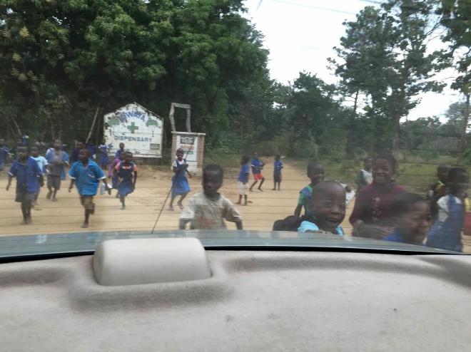 Children from Ripple Africa