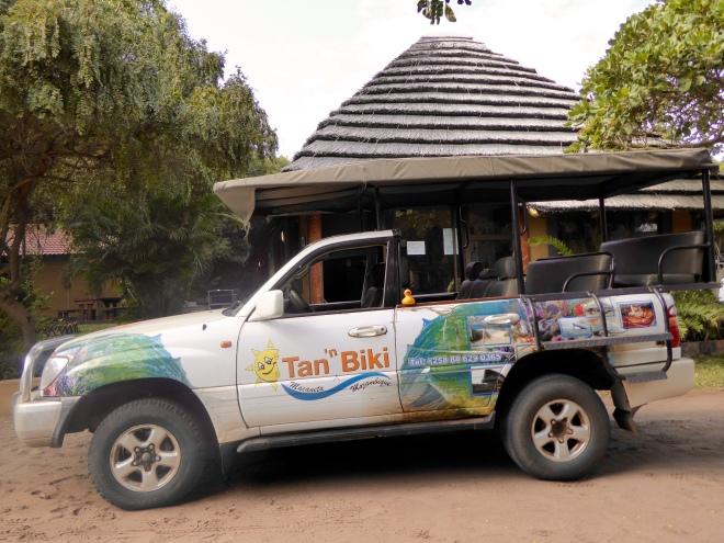 Arrived at Tan 'n Biki Resort