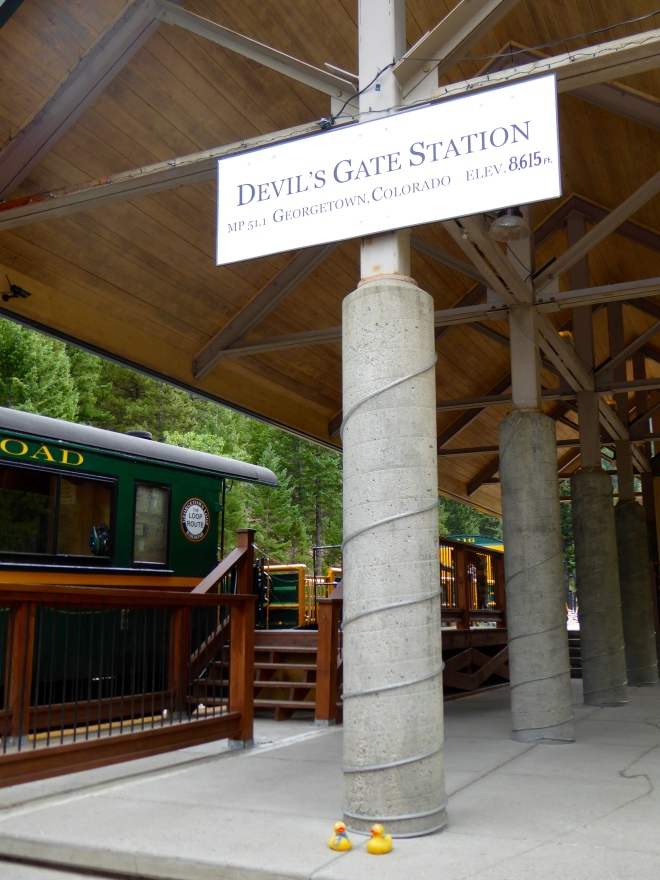 Devil's Gate Station at Georgetown, Colorado