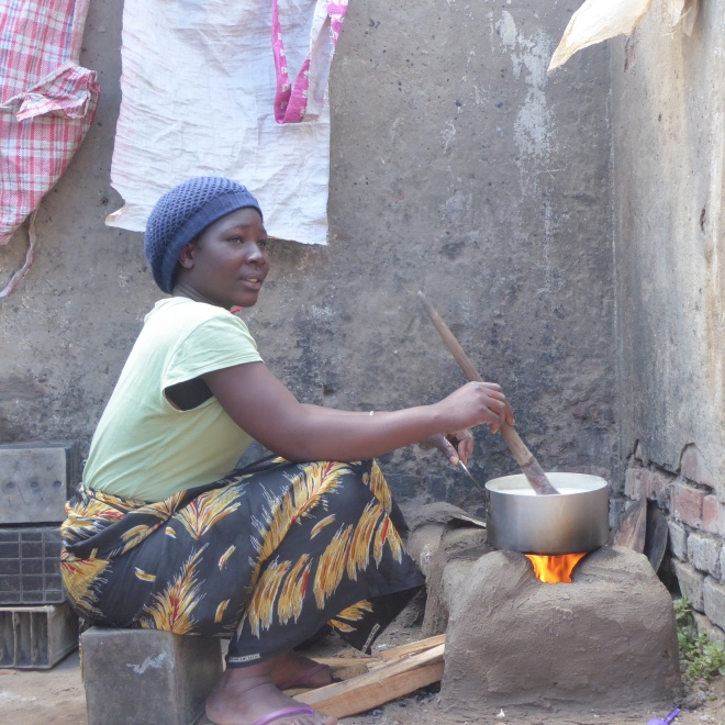 Cooking on new changu changu moto stove