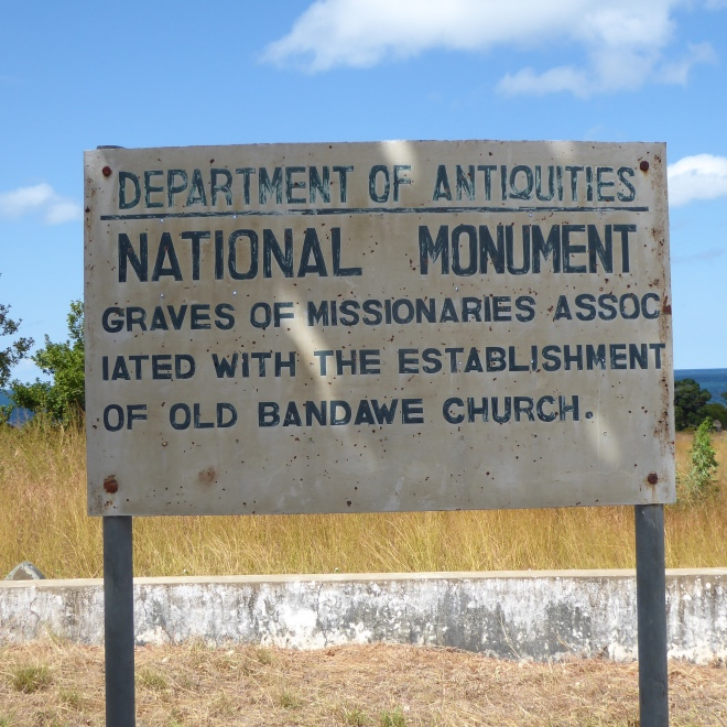 National Monument. Missionary Cemetery