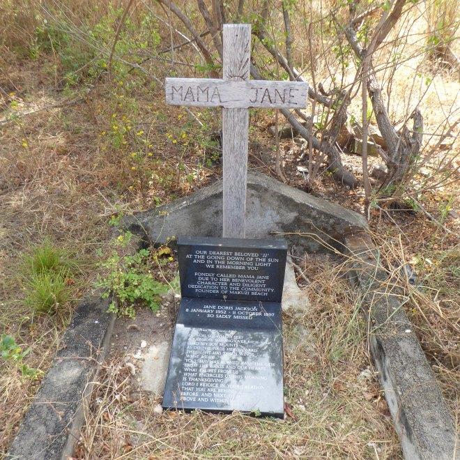 Grave of Mama Jane Jackson