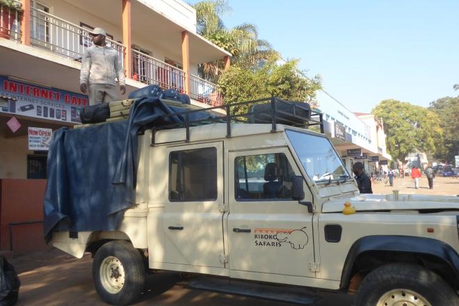 Preparing to leave Lilongwe