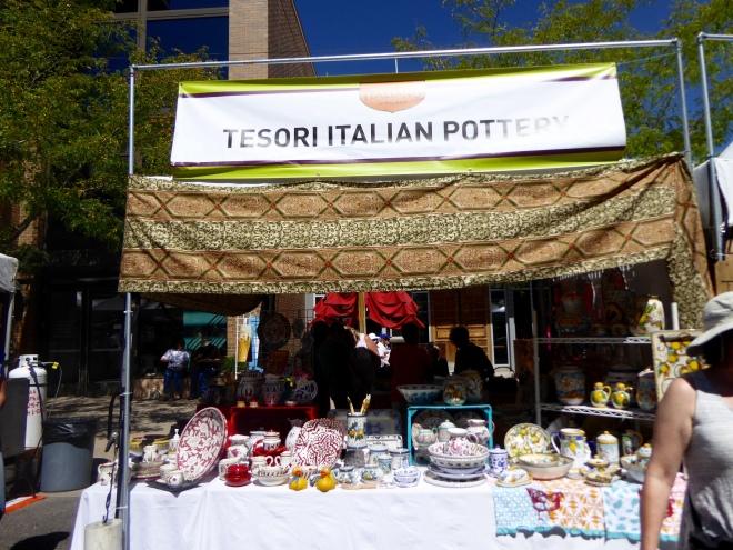 Tesoro Italian Pottery