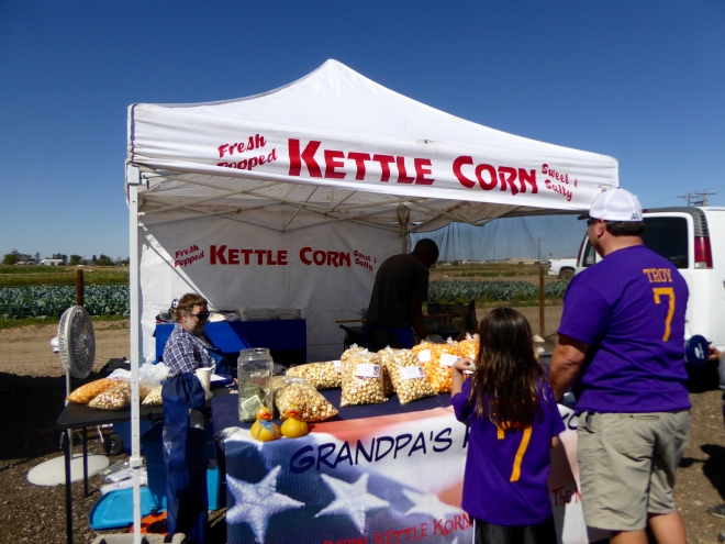 We love Kettle Corn