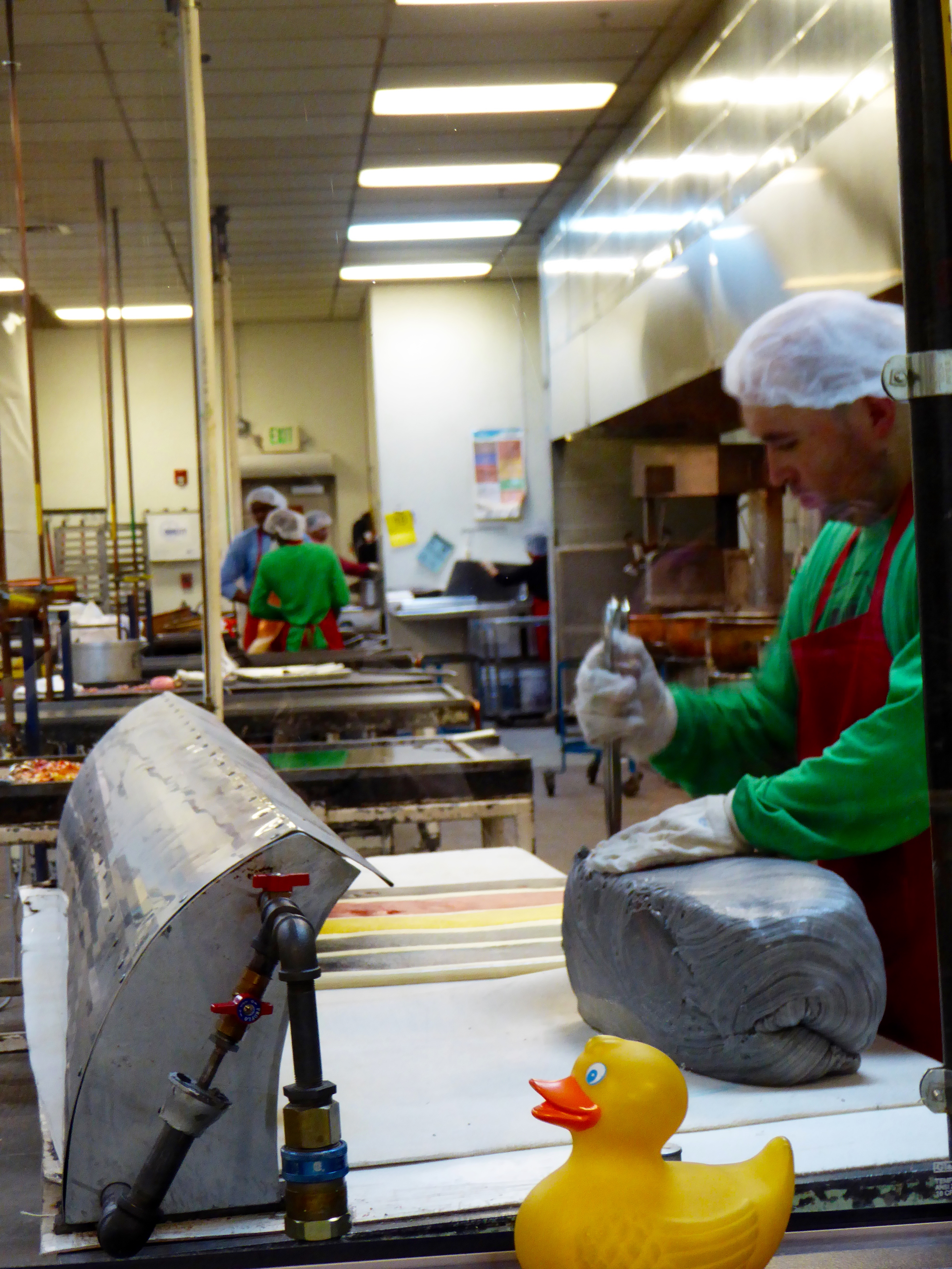 Touring Denver's Hammond's Candy Factory with Zeb the Duck
