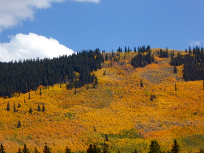 Kenosha Pass in the autumn