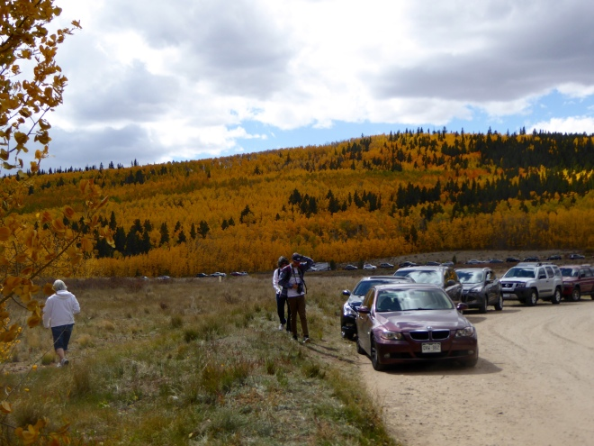 Many enjoying Colorado colors