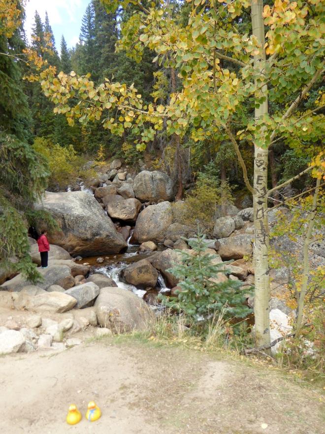 Cascading water sounds wonderful