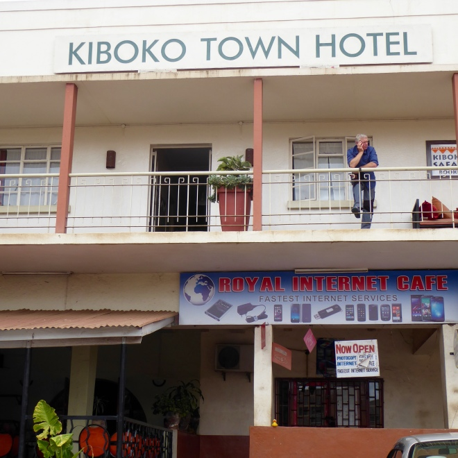 Kiboko Town Hotel. Our home in Lilongwe, Malawi