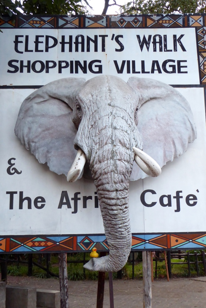 Elephant's Walk Shopping Village next to our hotel