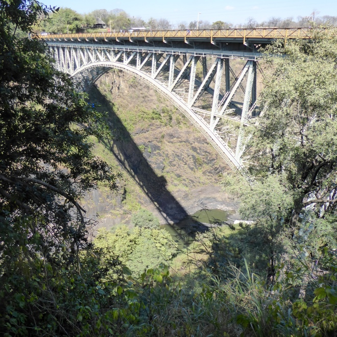 Victoria Falls Bridge from Zimbabwe side