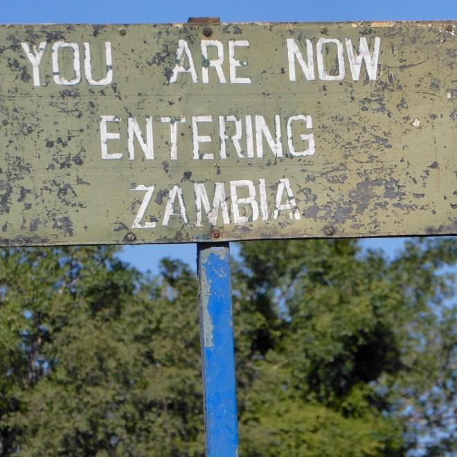 Into Zambia