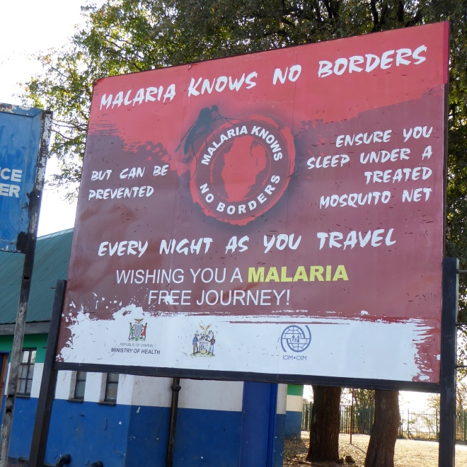 Reminder that malaria is a real threat