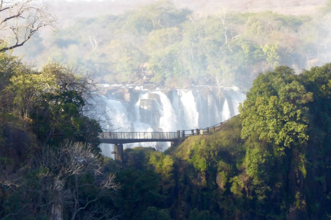 Our foot bridge from Victoria Falls Bridge