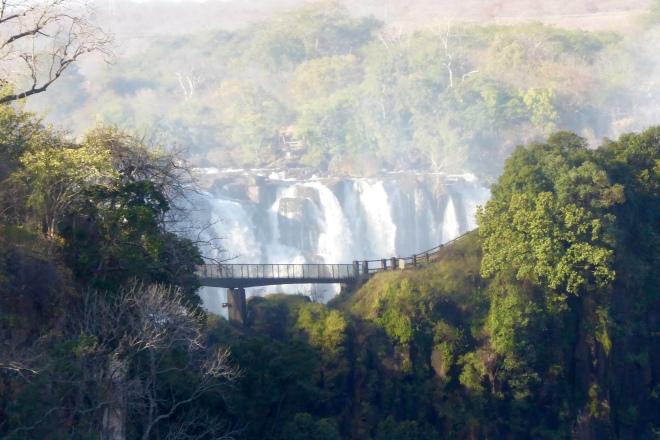 Our foot bridge from Victoria Falls Bridge