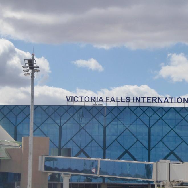 Victoria Falls, Zimbabwe airport