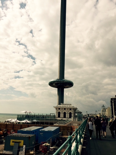 Brighton, England. Really tall tower.