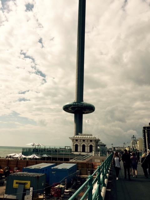 Brighton, England. Really tall tower.