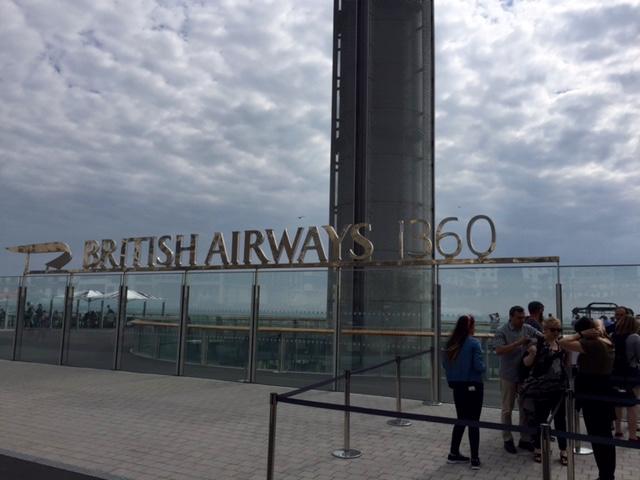 Brighton, England. British Airways