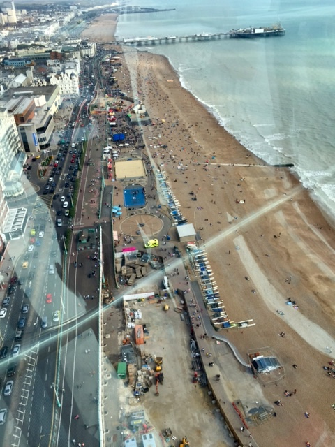 View in Brighton, England
