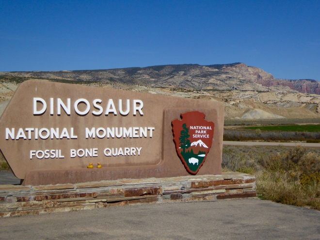 Dinosaur National Monument in Utah