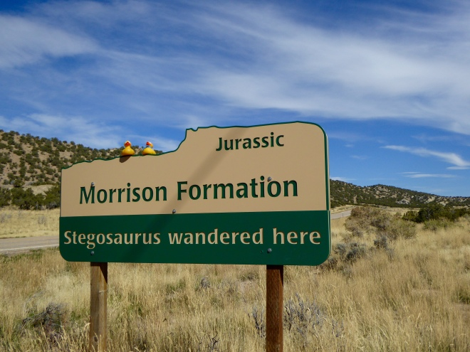 Morrison Formation. Stegosaurus Wandered Here